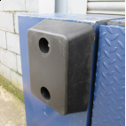 Rubber Buffer 330x250x100mm for loading docks