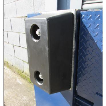 Rubber Buffer 450x250x150mm for loading dock