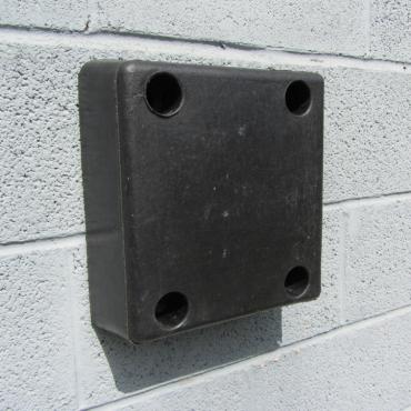 Rubber Buffer 330x305x100mm for loading dock