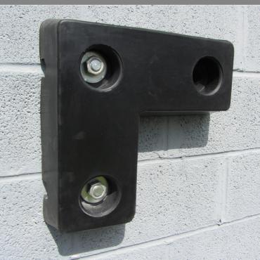 Rubber Buffer 450x450x100mm for loading dock