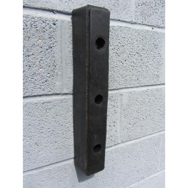 Rubber Buffer 470x80x90mm for loading docks