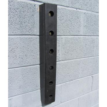 Rubber Buffer 750x115x75mm for loading docks