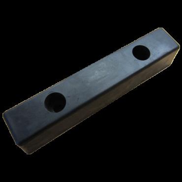 Gummibuffer 330x250x100mm for læsserampe