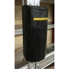 Rubber Buffer for Pallet Racking 75mm
