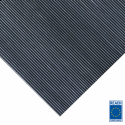 3mm fine ribbed rubber matting 1200mm