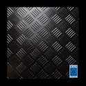 3mm Premium Checker rubber matting 1400mm