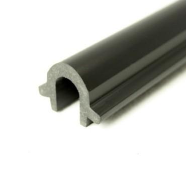 Insert Profile PVC1062 Black