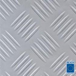 3mm Premium Grey Checker rubber matting 1400mm