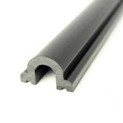 Insert Profile PVC1066 Black