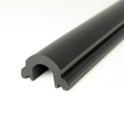 Insert Profile PVC1065 Black