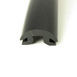 PVC1614 Filler profile Black