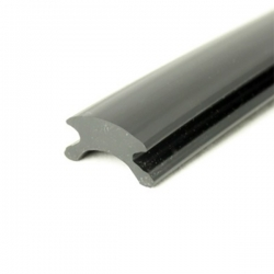 PVC114 Filler profile Black