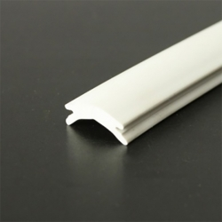PVC114 Filler profile White