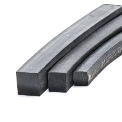 Solid Rubber Strip 30x3mm