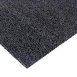 Coir doormat black 100cm