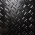 3mm TPR Checker rubber matting 1400mm
