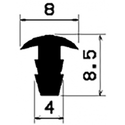 T-Profile 2,5mm