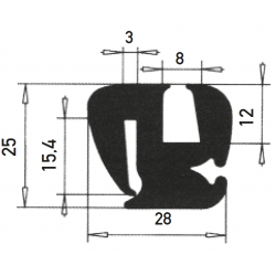 G7-8/P3mm S-Type Window Profile