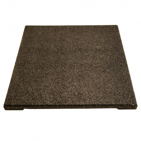 Rubber Tiles ECO Black 30mm 500x500mm