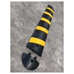 Speed- & Road bump 1.8M Black/Yellow