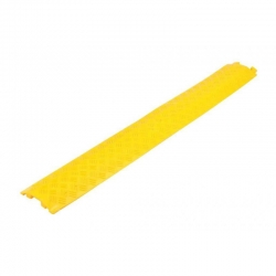 Cable & Hose Protector - 1 Channel - 39x12mm