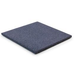 Rubber Tiles Grey 20mm 500x500mm