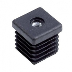 Ø19mm M6 Tube insert with metal thread