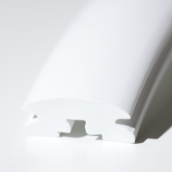 Indlægsliste PVC Hvid