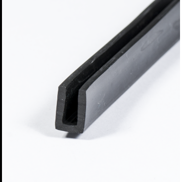 u profile 3mm epdm rubber protect your edges