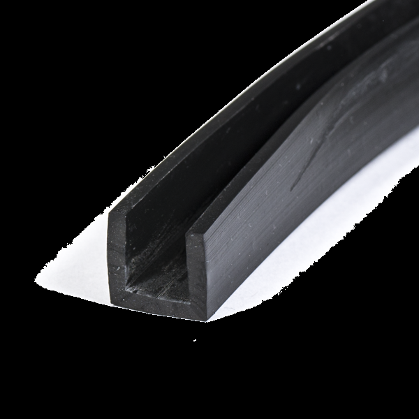 u profile 10mm epdm rubber protect your edges