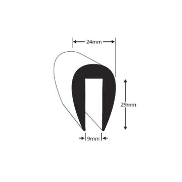 Fender profile PVC1/5 Black