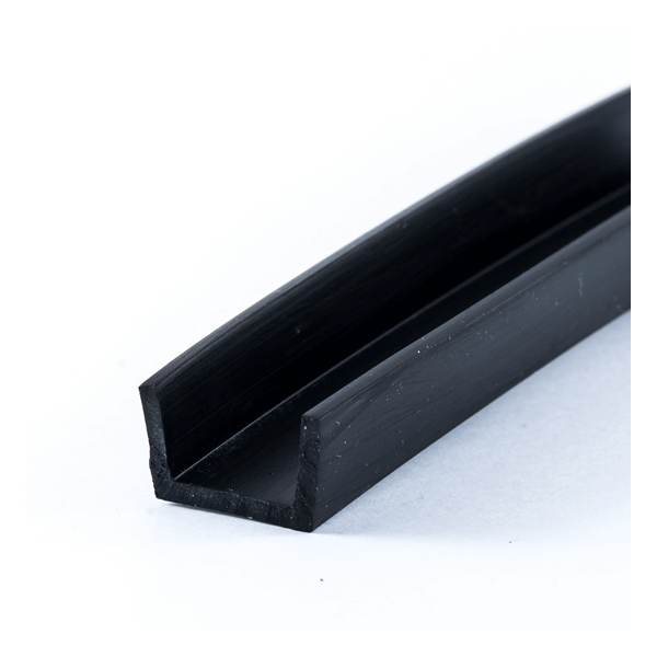 u profile 12mm epdm rubber protect your edges