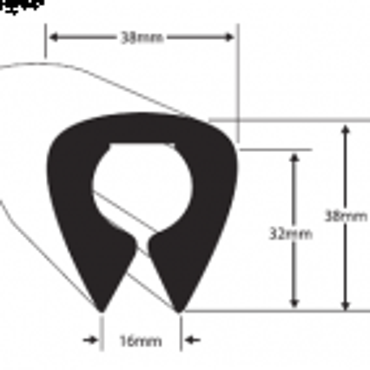 Fender profile PVC34 Black