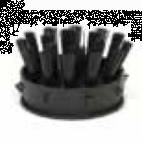 Brush Black for Ring Mat